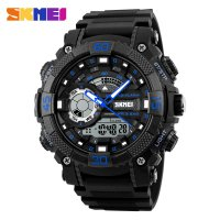 SKMEI Jam Tangan Analog Digital Pria - AD1228 - Black/Blue