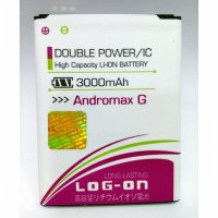 Baterai/Batere/Battery Log On Double Power For Smartfren Andromax G