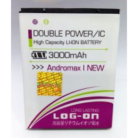 Baterai/Batere/Battery Log On Double Power For Smartfren Andromax I New