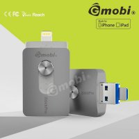 Gmobi iStick Pro 3 in 1 Micro Lightning USB 3.0 Flashdisk 64GB - Gray