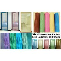 Tirai Pintu Magnet Anti Nyamuk / Magnetic Curtain Magic Mesh