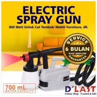 [Limited Offer] Electric Spray Gun 800Watt Cat Tembok/Mobil Painting Semprotan Simple