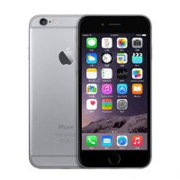 100% Original Apple iPhone 6 Unlocked Cell Phone 4.7 inch 2GB RAM 16GB ROM Refurbished smartphone Black 16GB,without Touch ID