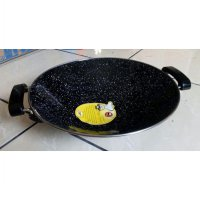 Wajan Anti Lengket Enamel Marble Royal Wok Maspion 30 c