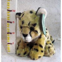Boneka Baby Cheetah Original Singapore Zoo Boneka Binatang Wild Animals