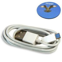 [poledit] HQRP USB to micro USB Charging Cable (WHITE) for Wacom Intuos Pen and Touch Medi/12647449