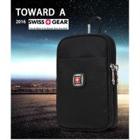 Tas pinggang Sarung HP inch import branded swiss army outdoor sport