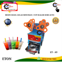 Mesin Press cup sealer semi auto getra