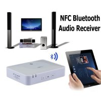Nfc Ibt-08 Bluetooth Desktop Home Audio Music Receiver Sound Harga Promo16