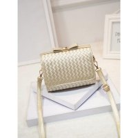 KGS Tas Pesta/Casual Wanita Clutch Plaid Ribbon 5 Warna