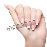 Nude nail - Glass nail glossing file NUDE NAIL / Mini Meni Pedi