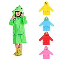 Funny Rain Coat / Children's Cartoon Raincoat / Jas Hujan Anak