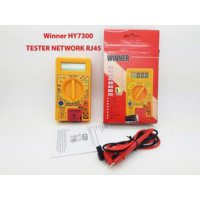 Digital Multitester Winner HY7300 + LAN Tester RJ 11 + RJ45SJ0185