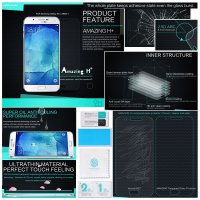 Samsung Galaxy A8 Nillkin Anti-Explosion H+ Glass Tempered Antigores Screenguard