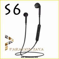 Wireless Headset Bluetooth S6 Xiaomi Iphone Samsung LG Lenovo Oppo