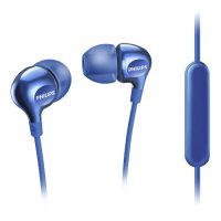Philips In Ear Headphone with Mic SHE3705 BL - Biru