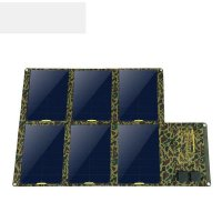 100W 130W 160W Solar Charger (Dual 5v USB with iSolar Technology+18v DC Output) Portable Solar Panel for Laptop, Tablet ,smartphone 130W
