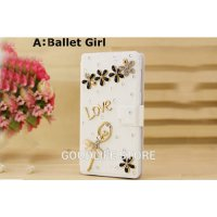 [globalbuy] Hot Sale Fashion Flower Paris Eiffel Tower Ballet Crown Pink Girl Stand Holder/1522735