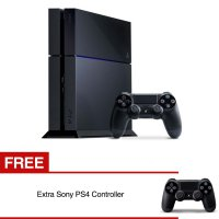 [Sony] Playstation 4 500 GB US Version / Gratis 1 Stick Original
