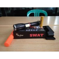 Senter swat magnet t6 lampu emergency