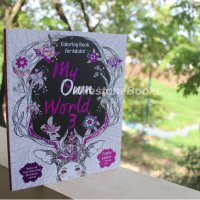 Milestonebooks - My Own World 3: Coloring Book for Adults (Family Edition)