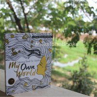 Milestonebooks - My Own World: Coloring Book for Adults (Travel Size)
