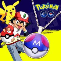KALUNG 023760r Pokemon Go Color Pendant Necklace Silver Color