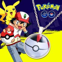 KALUNG 023765r Pokemon Go Color Pendant Necklace Silver Color