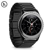 Hoco 3 pointer strap / band for Samsung Gear S2 Classic / Moto 360 2nd gen 42mm Black Metal Strap