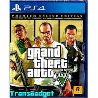 [Sony PS4] Grand Theft Auto V - Premium Online Edition - GTA 5 (R3)