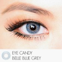 Softlens Eyecandy BELLE BLUE GRAY / Soft Lens Eye Candy Bluegray