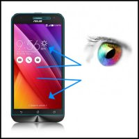 [globalbuy] Phone Glass For Asus ZenFone 2 Laser ZE500KL Mobile Accessory 5.0 Inch Clear F/2232004
