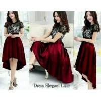 Dress Elegant Brukat 1124R