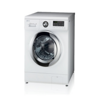 LG Mesin Cuci Front Loading WD-M1480AD6 (8 Kg/ 1 Tabung)