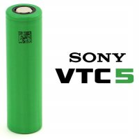 Sony VTC5 18650 Lithium Ion Cylindrical Battery 3.7V 2600mAh