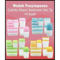 HOT PROMO !!! CALISTA OTARU SEALWARE ORIGINAL 14 PCS BENING