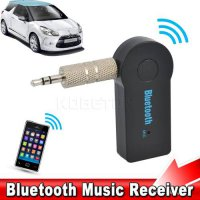 [globalbuy] NEW 3.5mm Car Bluetooth Audio Music Receiver Adapter Auto AUX Streaming A2DP K/4040889