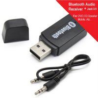 Bluetooth Audio USB & Jack 3.5 mm Stereo Music Receiver Mobil Wireless fr Smartphon Andrd PC MP3 DVD
