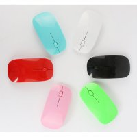 Wireless Ultra-thin Laser Optical Magic Mouse 2.4GHz