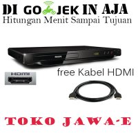 Philips DVP3690K DVD Player HDMI USB Karaoke + Free Kabel HDMI