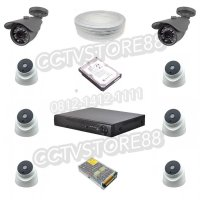 paket cctv 8 channel full hd 2mp paket cctv ahd 2 mp