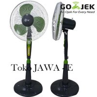 TD TWIN DOG Stand Fan/Kipas Angin Berdiri Ukuran 16 inch