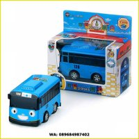 DIECAST LITTLE BUSS TAYO FULL BACK ORIGINAL - MOBIL BUS TAYO