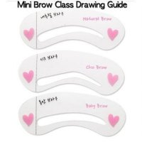 CETAK ALIS / CETAKAN ALIS / MAGICAL EYEBROW / Mini Brow Class Drawing Guide ❤ ❤ (ISI :3)