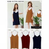 TENABANG OFFICIAL | DRESS KIMI OUTER | BC359R | MINI DRESS WANITA TERBARU