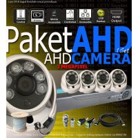 Paket 4 CCTV AHD 4 Channel DVR HD Kamera Murah