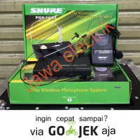 Wireless Headset Dan Kancing Shure Pgx14/93