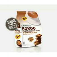 2 pack - kokoo hot coklat drink