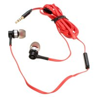 Original REMAX 3.5mm Super Bass In-Ear Stereo Sporty Earphone with Microphone RM-535i