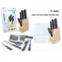 Deluxe Kitchen Knife Set - Isi 6 Pcs